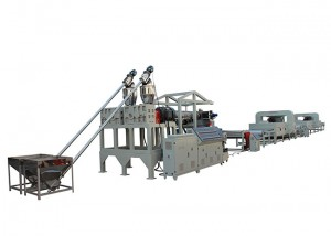 PVC Coil Mat Line Production