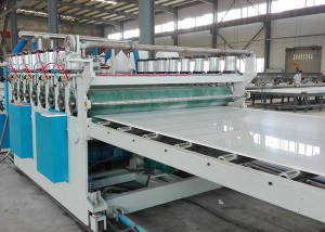 PVC WPC Köpük Board Machine
